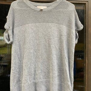 Michael Kors Women's Gray knitting  Shirt Size L